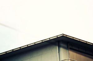 Dach zum Horizont