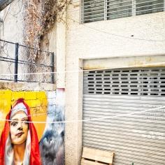 Streetart - St. Nicholas Treppe