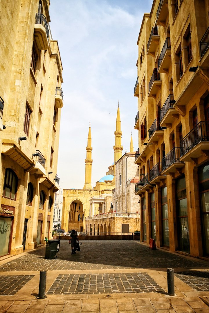 Moschee in Downtown Beirut
