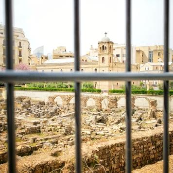 Archäologisches Erbe im Herzen Beiruts